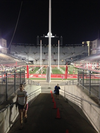 Ohio Stadium at 5AM!