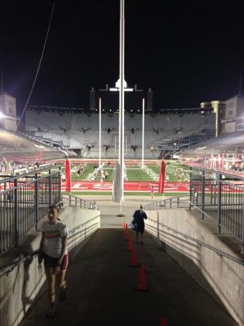 Ohio Stadium at 5AM!