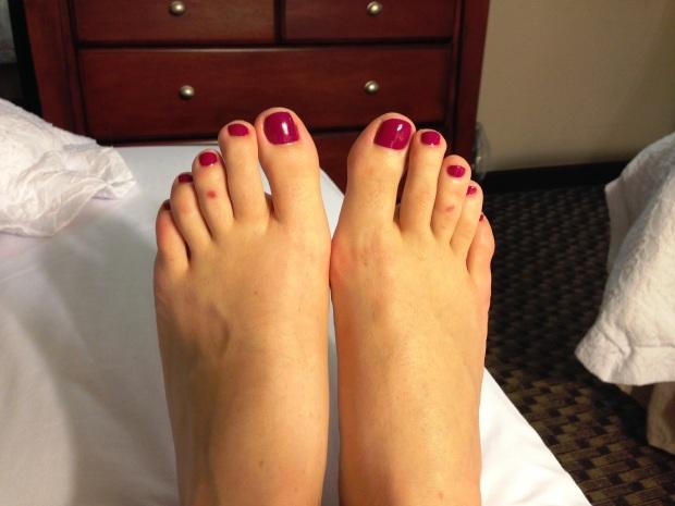 Pretty Toes.