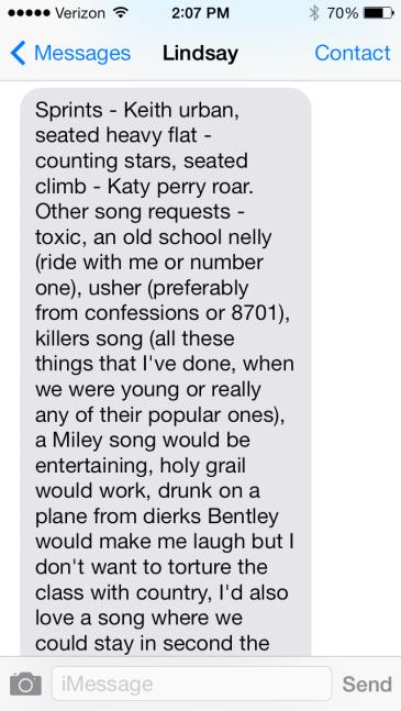 lindsay text